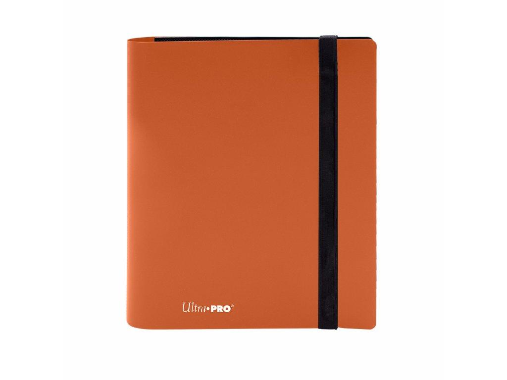 Ultra PRO - 4-Pocket PRO-Binder - Eclipse Pumpkin Orange