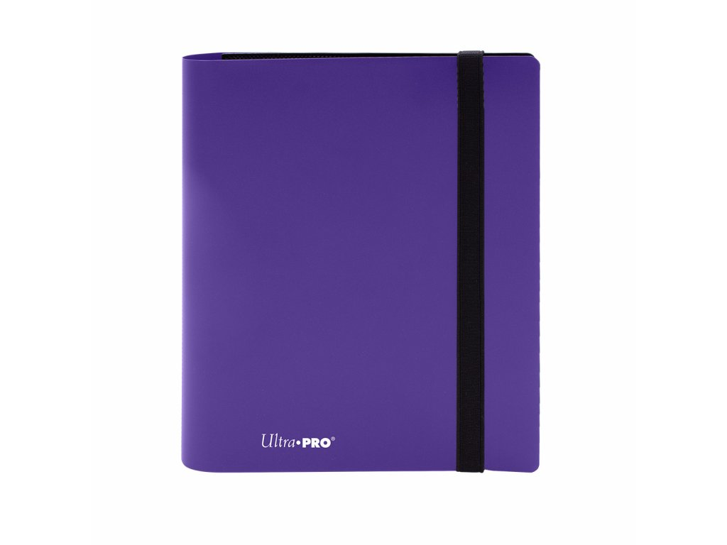 Ultra PRO - 4-Pocket PRO-Binder - Eclipse Royal Purple