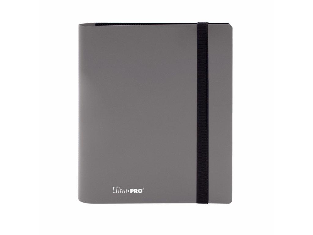 Ultra PRO - 4-Pocket PRO-Binder - Eclipse Smoke Grey