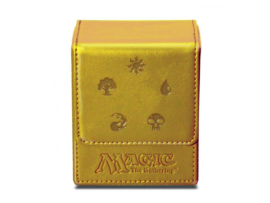 Ultra-Pro: Mana Flip Box (Gold)