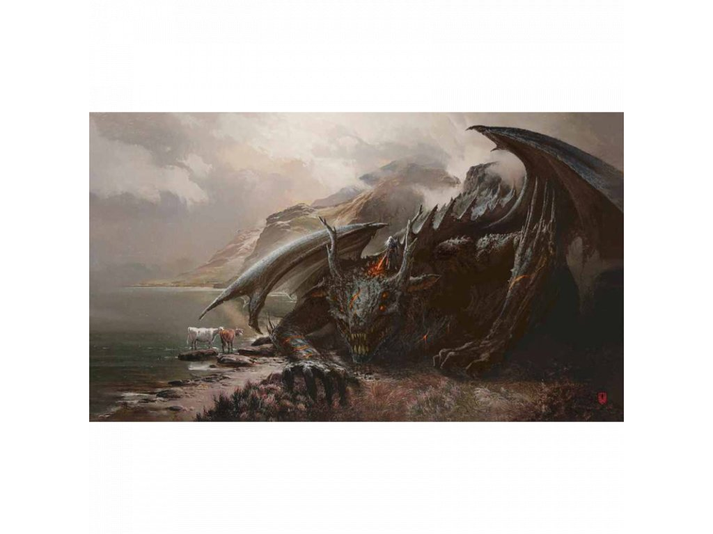 tcg mat wolf dragon 1