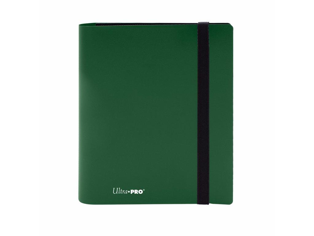 Ultra PRO - 4-Pocket PRO-Binder - Eclipse Forest Green