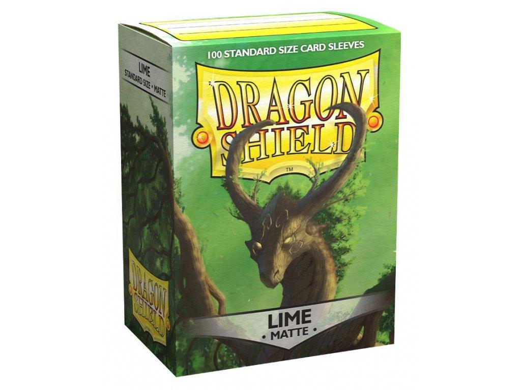 dragon shield sleeves standard size lime laima matte 82978