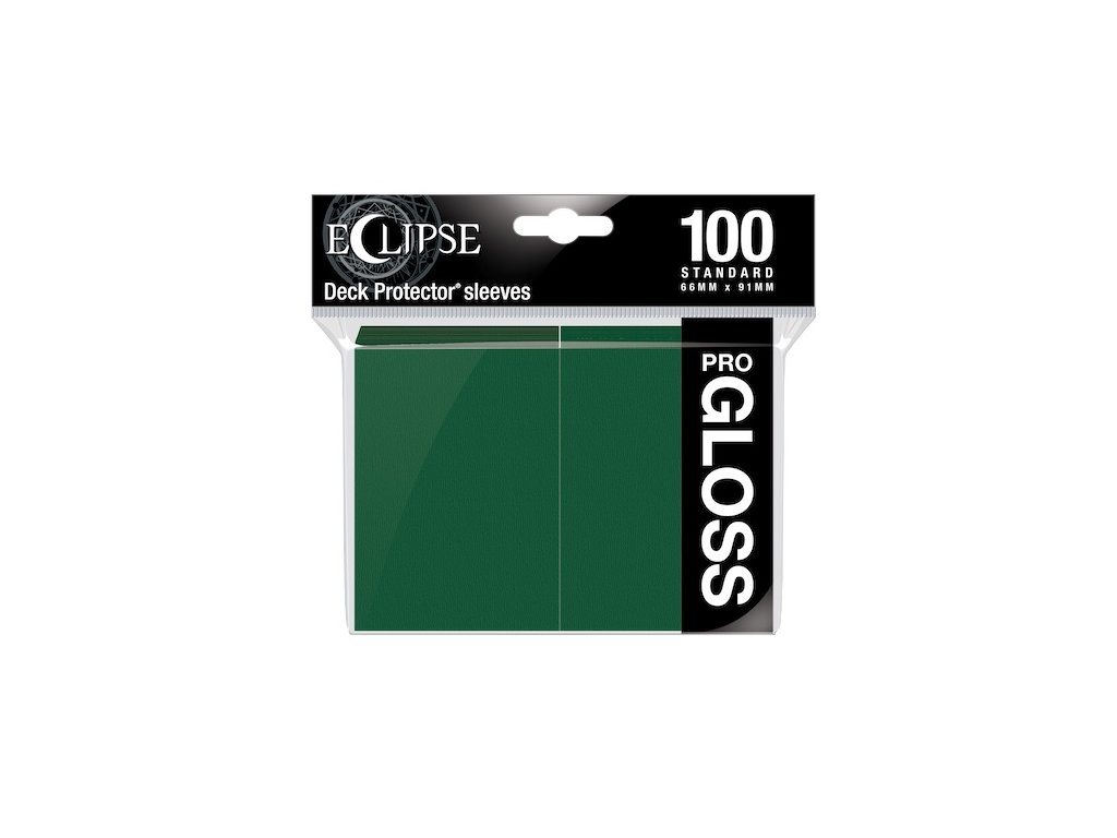 Ultra PRO - Gloss Eclipse obaly 100 ks (Forest Green)