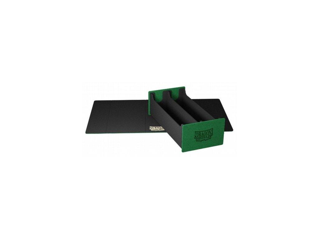 dragon shield magic carpet xl green black deck box 500