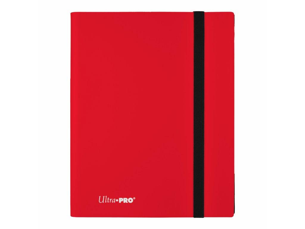Ultra PRO - 9-Pocket PRO-Binder - Eclipse Apple Red