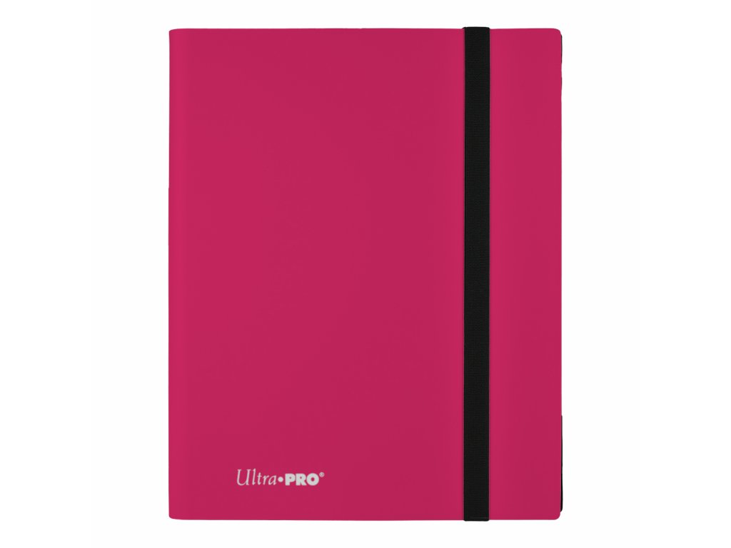 Ultra PRO - 9-Pocket PRO-Binder - Eclipse Hot Pink