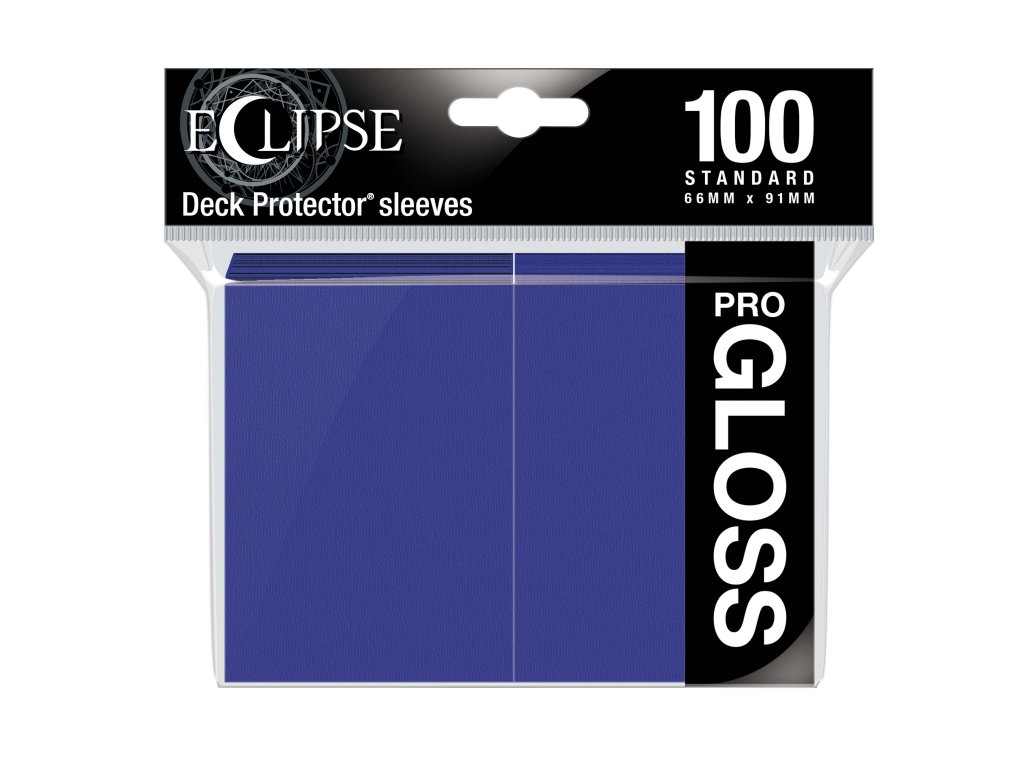 Ultra PRO - Gloss Eclipse obaly 100 ks (Royal Purple)