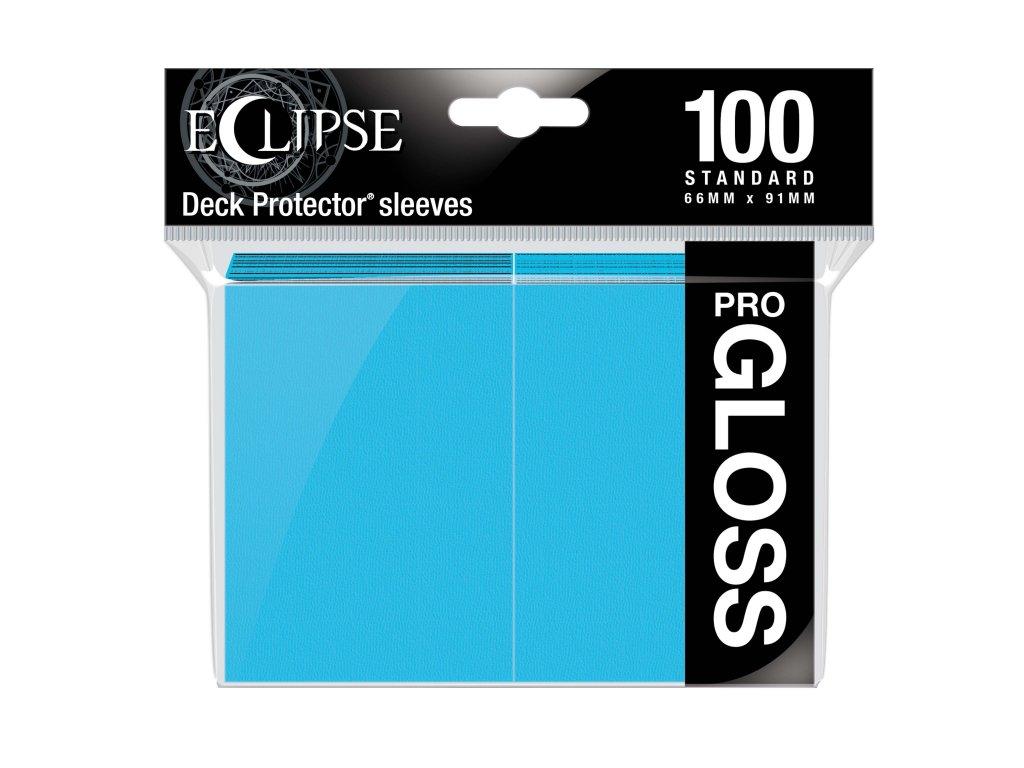 Ultra PRO - Gloss Eclipse obaly 100 ks (Sky Blue)