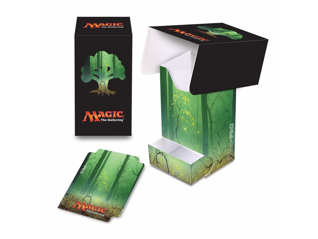 Ultra Pro Mana 5 Forest Full View Deck Box