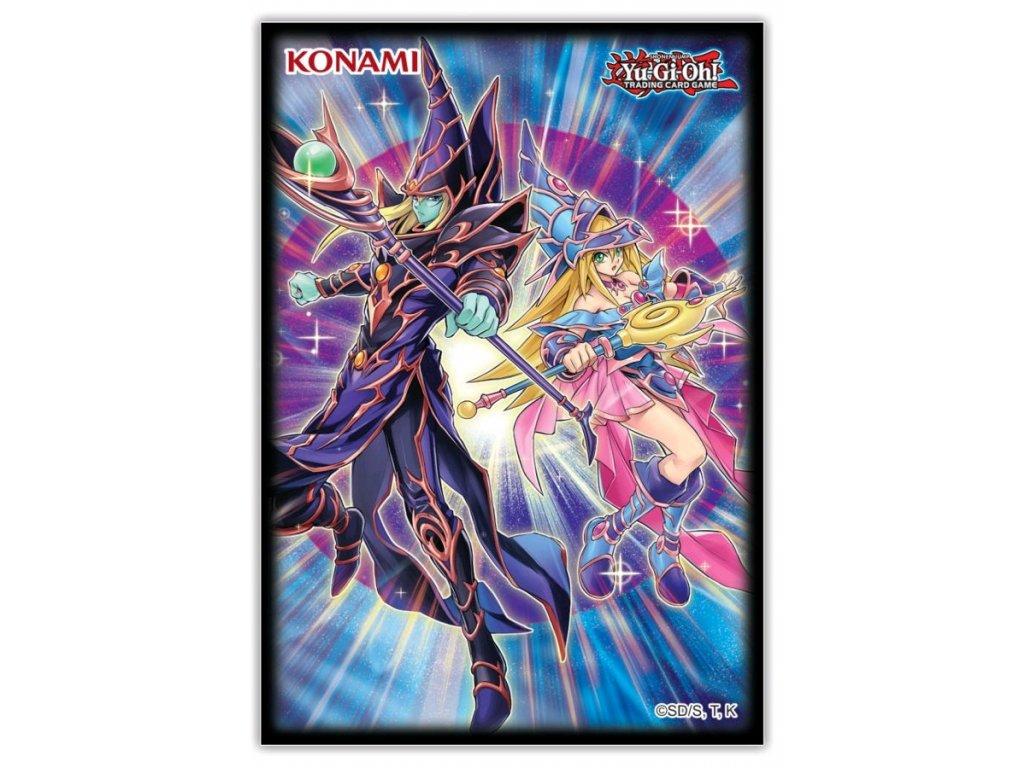 KON84011 Yu Gi Oh Dark Magicians Card Sleeves 50ct