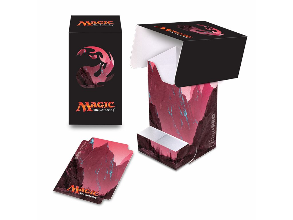 Ultra Pro Mana 5 Mountain Full View Deck Box