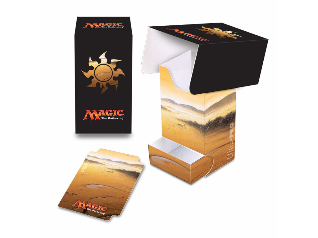 Ultra Pro Mana 5 Plains Full View Deck Box
