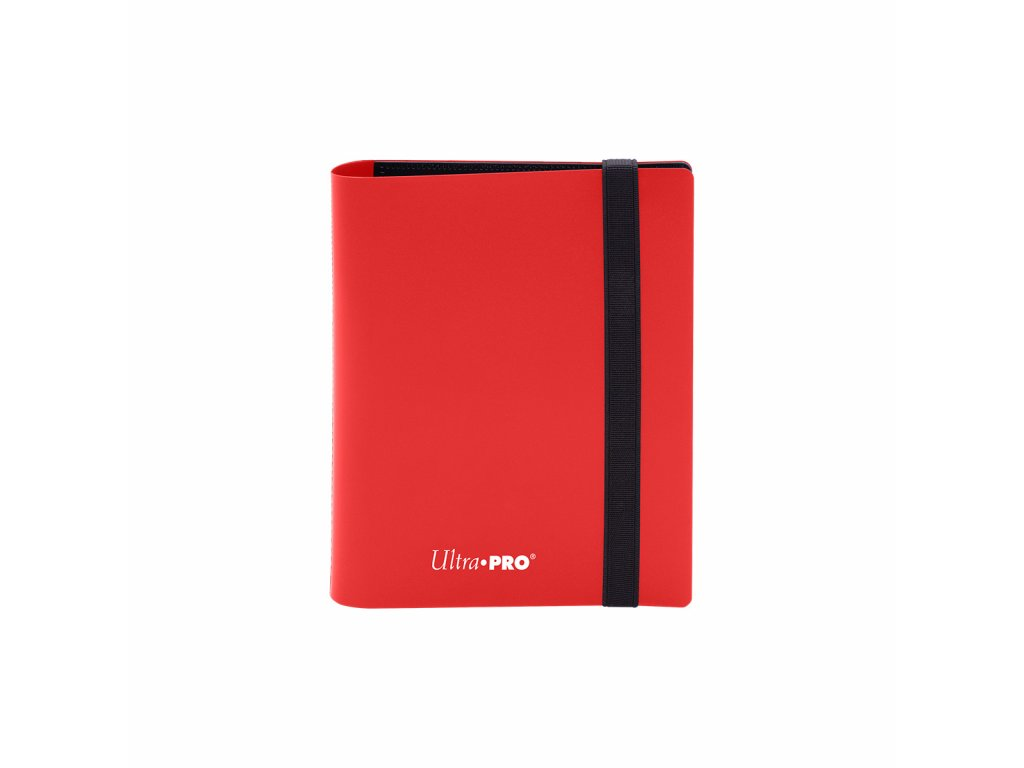 Ultra PRO - 2-Pocket PRO-Binder - Eclipse Apple Red