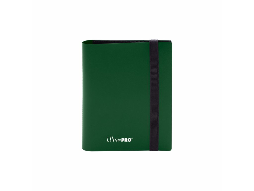 Ultra PRO - 2-Pocket PRO-Binder - Eclipse Forest Green