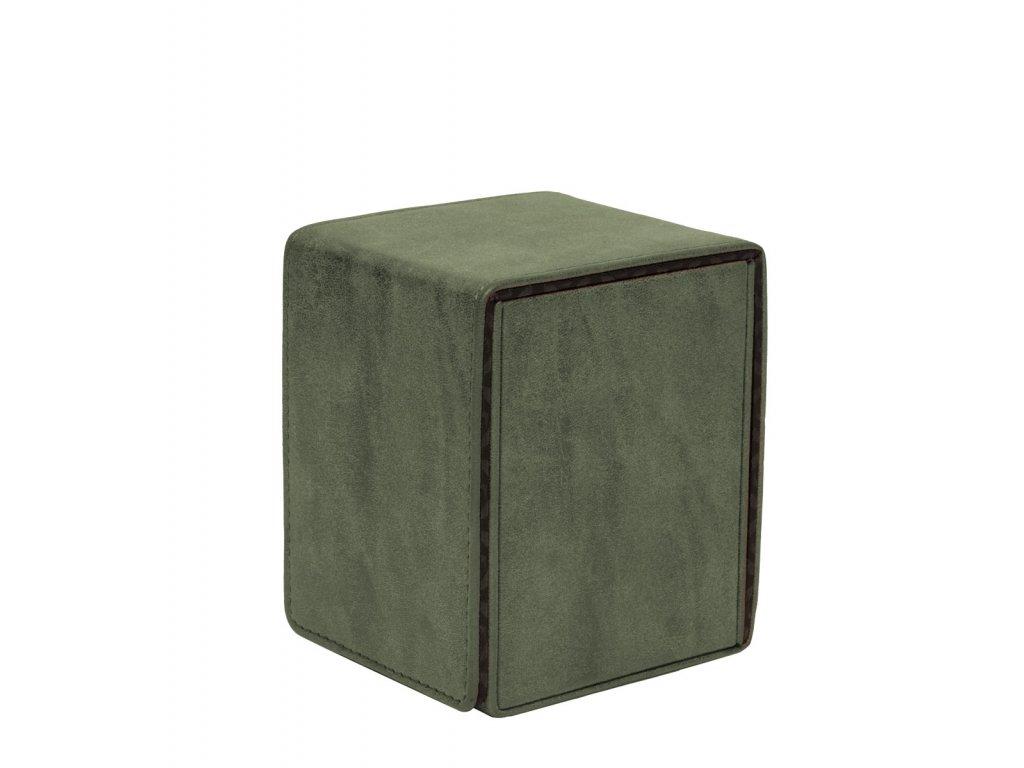 Ultra Pro - Suede Collection Alcove Flip krabička - Emerald
