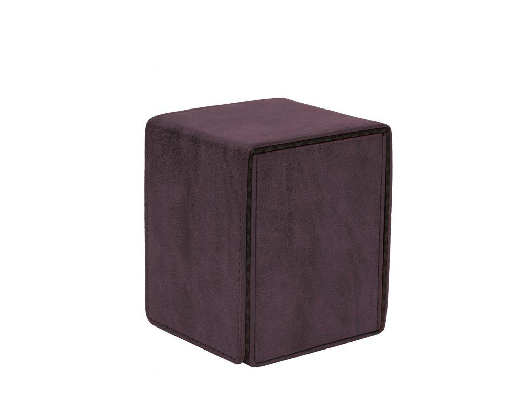 Ultra Pro - Suede Collection Alcove Flip krabička - Amethyst