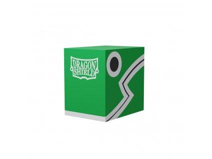 Dragon Shield Double Deck Shell - Green / Black