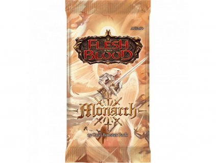 30403 flesh and blood monarch first edition booster pack a 1