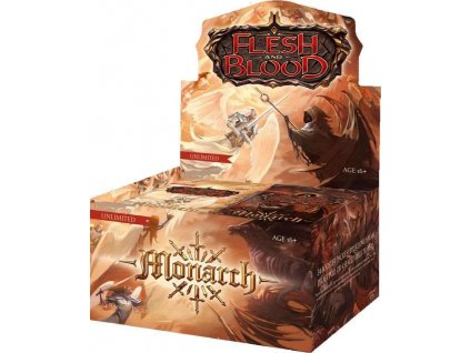 Flesh and Blood - Monarch Booster Box (Unlimited)
