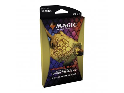 Magic the Gathering D&D Adventures in the Forgotten Realms Theme Booster - Dungeon