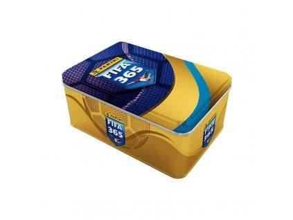 panini fifa 365 2021 2022 adrenalyn plechova krabicka hranata