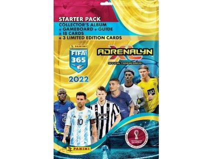 2021 Panini FIFA 365 2022 Starter Pack1aa