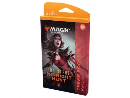 magic the gathering innistrad midnight hunt theme booster red 61545f979fb60