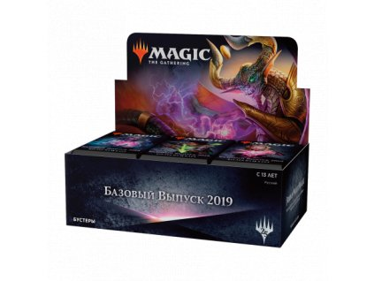 core set 2019 booster box russian