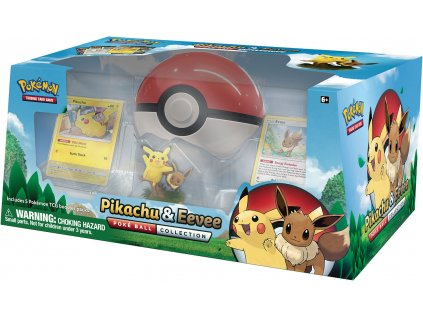 Pikachu and Eevee Poke Ball Collection