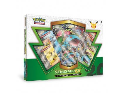 pokemon red and blue collection venusaur ex 5780a889a2098