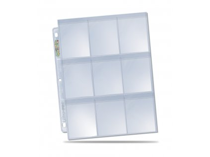 "Ultra Pro ""Secure"" PLATINUM 9-Pocket Page"