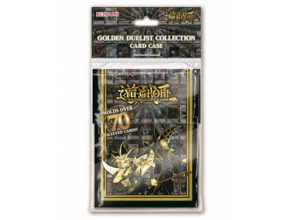 PLASTIC DECK BOX GOLDEN DUELIST DECK BOX 70 YU GI OH 0083717842200