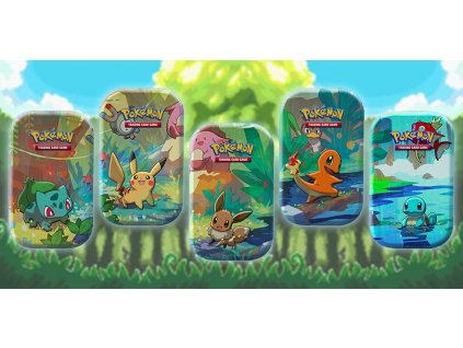 copertina kanto friends mini tins