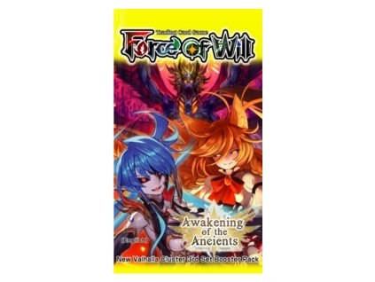 force of will awakening of the ancients booster pack
