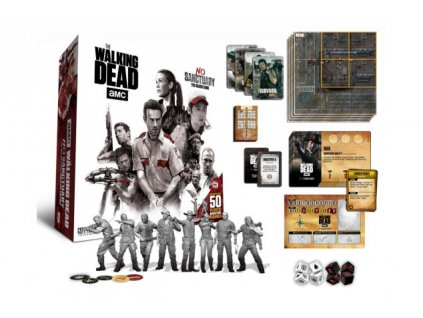 89752 Walking Dead Board Game No Sanctuary English Version 634x431