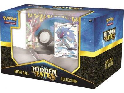 Hidden Fates Great Ball Collection Zoroark GX Side