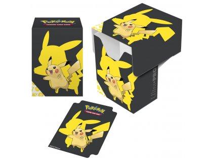 "Pokémon - ""Pikachu 2019"" Full-View Deck Box"