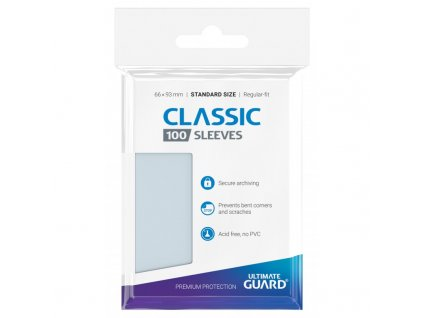 Ultimate Guard Classic Soft Obaly (100 ks)