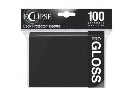 Ultra PRO - Gloss Eclipse obaly 100 ks (Jet Black)