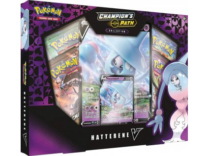 pokemon champion s path collection hatterene v 2020 176518