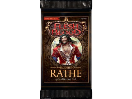 Flesh and Blood TCG – Welcome to Rathe Booster Pack