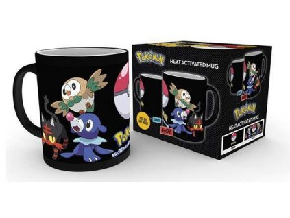 pokemon evolve heat changing mug 1.146