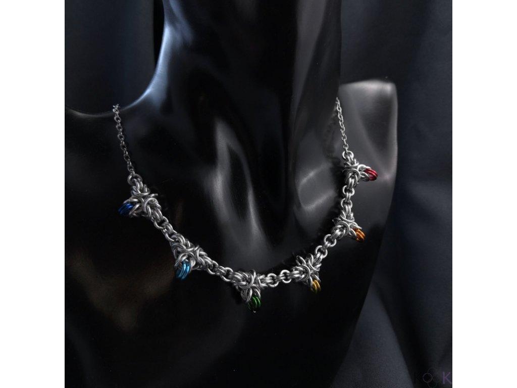 Duhový náhrdelník (2)