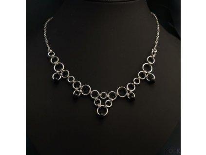 Náhrdelník černá perla (3)