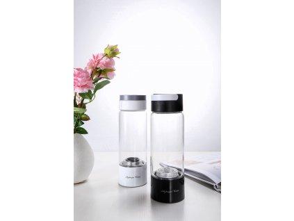 varianta lahve černá a bílá