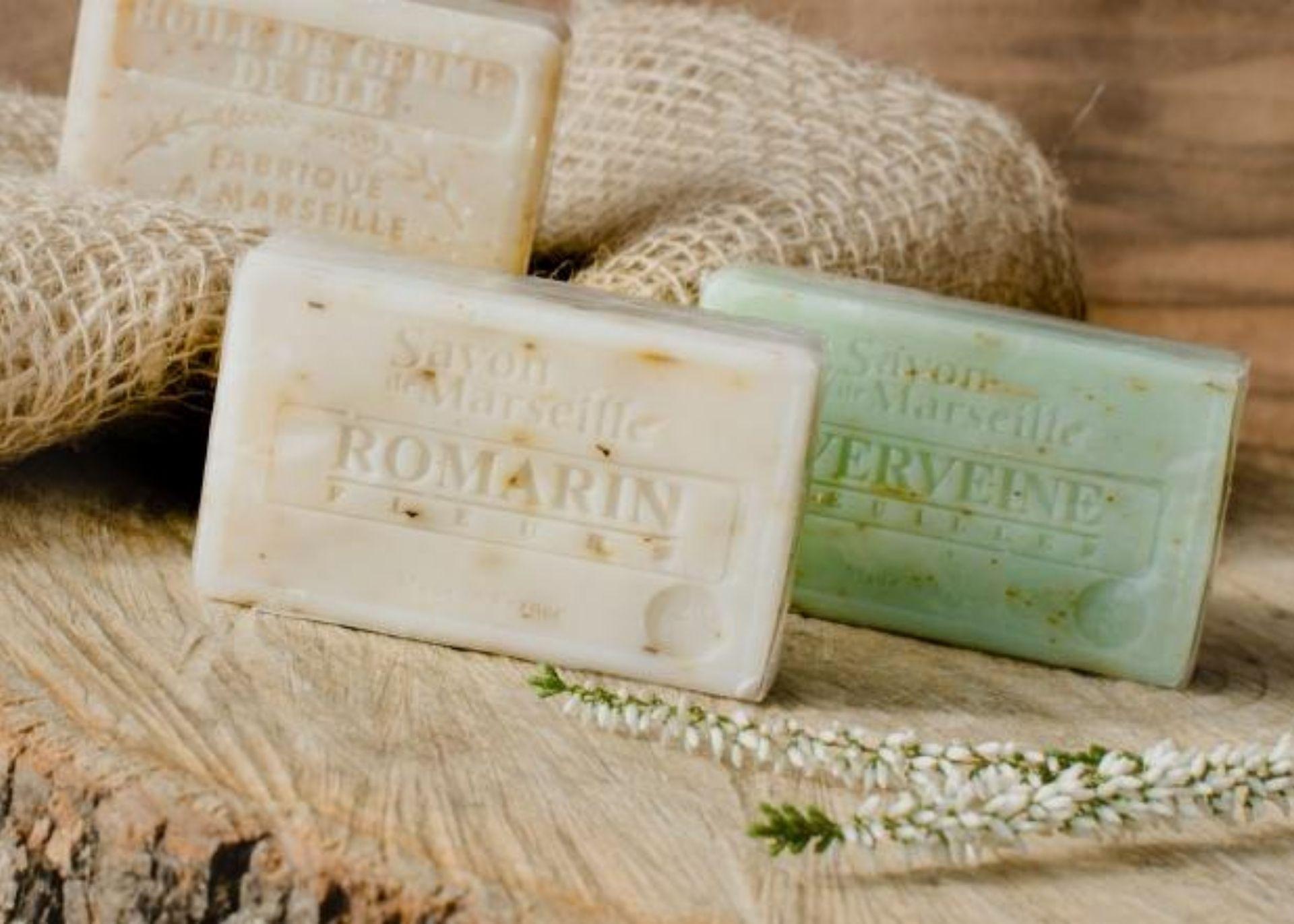 Marseillská mýdla a jejich využití