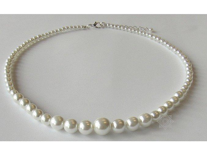 Perly skleněné stupňované