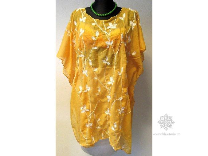 pareo květy elegance žluté