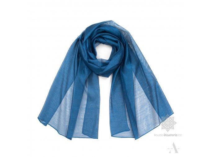 szal minimal me niebieski